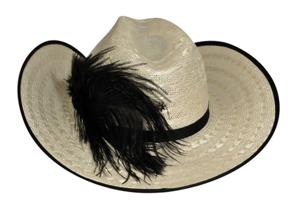 Renegade by Bailey Men's Layne Straw Cowboy Hat, Natural, hi-res