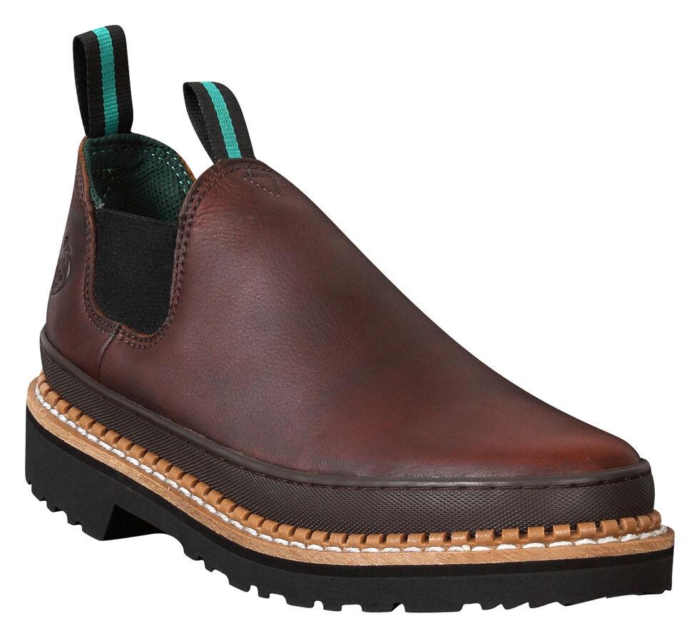 Georgia Giant Romeo Work Shoes - Steel Toe, Brown, hi-res