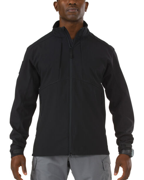 5.11 Tactical Sierra Softshell Jacket, Black, hi-res