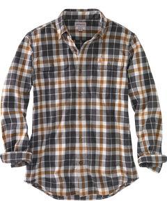 Carhartt Men's Hubbard Plaid Shirt - Big, Slate, hi-res