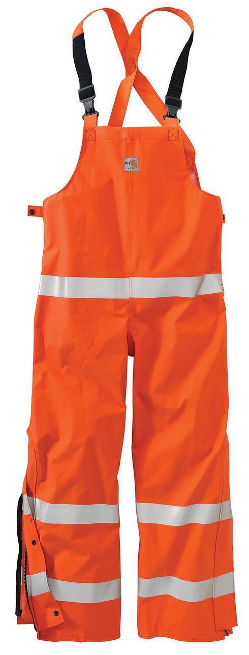 Carhartt Flame Resistant Rainwear Bib Overalls - Big & Tall, , hi-res