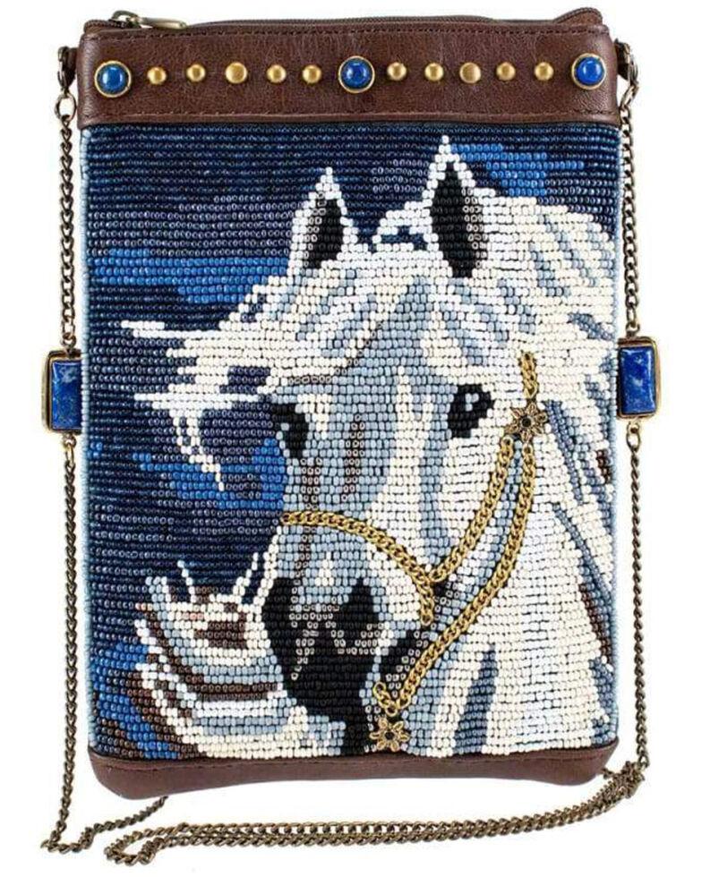 Mary Frances Women's Horse Play Beaded Crossbody Mini Handbag, Multi, hi-res