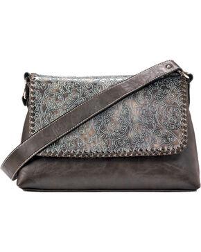 M&F Western Katelyn Conceal Carry Shoulder Bag, Green, hi-res