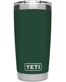 Yeti Rambler 20oz Green Tumbler, Dark Green, hi-res