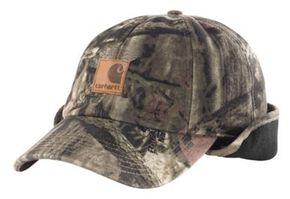 Carhartt Camo Ear Flap Cap, Camouflage, hi-res