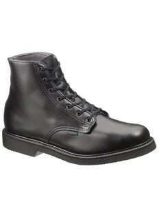 "Bates Men's 6"" Chukka Work Boots - Soft Toe, Black, hi-res"