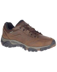 Merrell Men's Brown MOAB Adventure Waterproof Hiking Boots - Soft Toe, Brown, hi-res