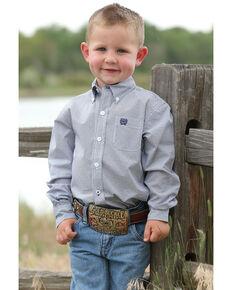 c251cbdf5 Cinch Toddler Boys Navy Geo Print Long Sleeve Western Shirt , Navy, hi-res