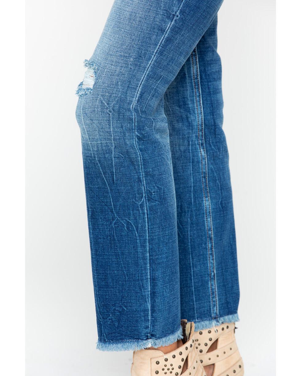 Wrangler Women's Modern High Rise Crop Jeans, Indigo, hi-res