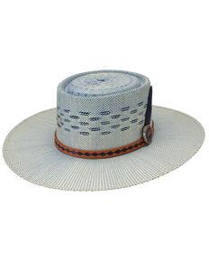 Charlie 1 Horse Women's Blue Roan Bangora Straw Western Hat , Blue, hi-res