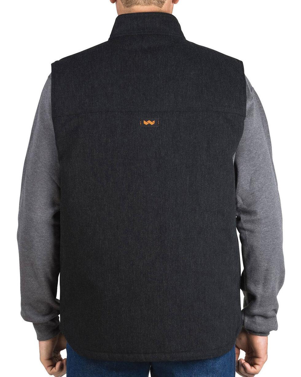 Walls Men's Black Point Blank Vest, Black, hi-res