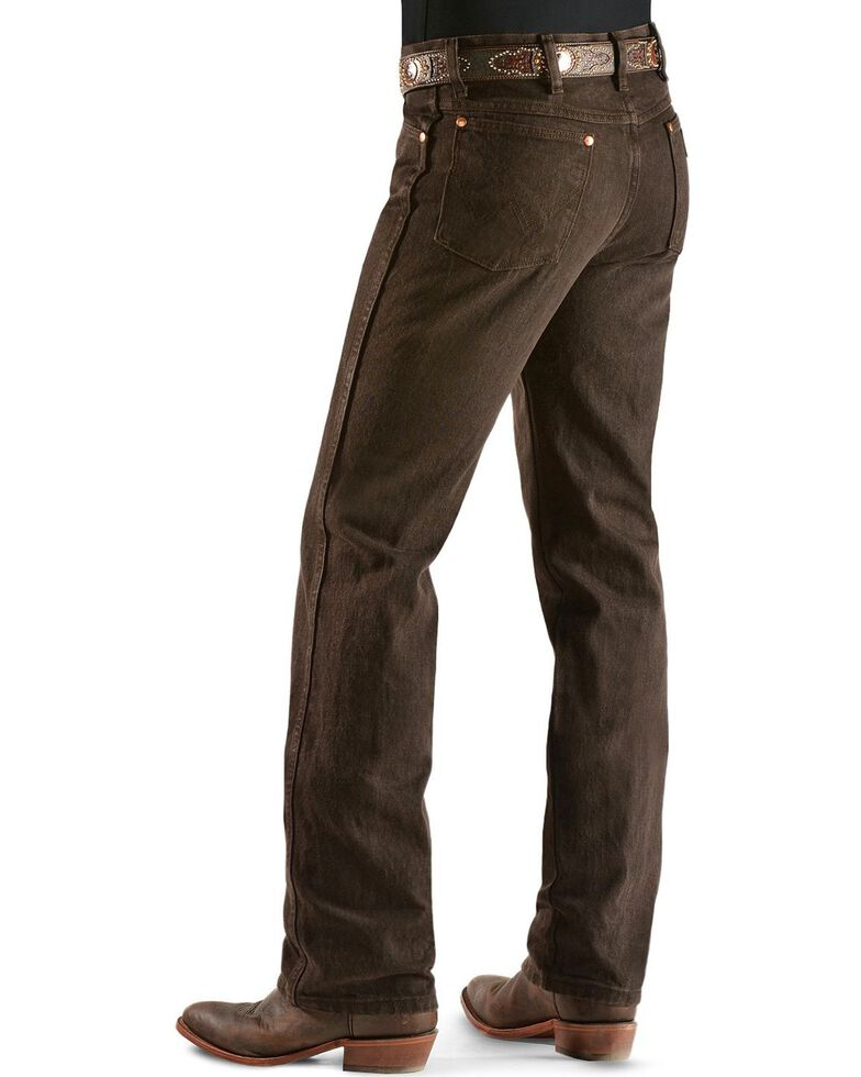 Wrangler 936 Cowboy Cut Slim Fit Jeans - Prewashed Colors, Chocolate, hi-res