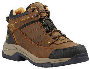 Ariat Men's Bison Terrain Pro Performance Boots - Round Toe, Bison, hi-res