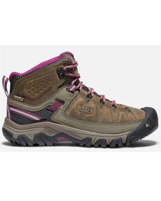 Keen Women's Targhee III Waterproof Hiking Boots - Soft Toe, Brown, hi-res