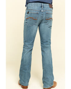 Cody James Core Men's Scorline 4-Way Performance Stretch Slim Bootcut Jeans , Blue, hi-res