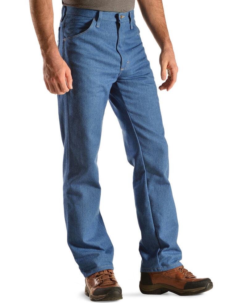 Wrangler Rugged Wear Stretch Regular Fit Jeans - Big , Light Blue, hi-res