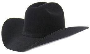 Cody James 10X Black Fur Felt Cowboy Hat, Black, hi-res