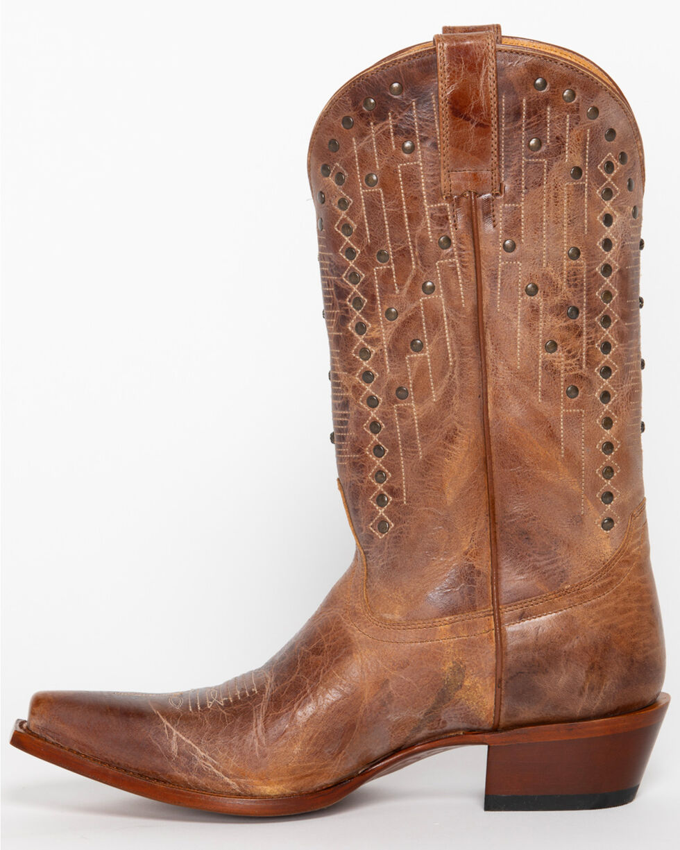 Shyanne® Women's Jessica Studded Western Boots - Snip Toe, Tan, hi-res