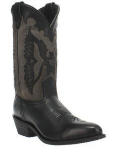 Dingo Men's Silverlake Western Boots - Round Toe, Black, hi-res