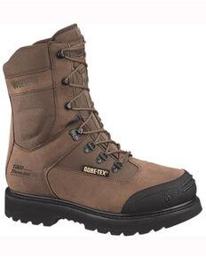 Wolverine Men's Kodiak Compostie Toe Work Boots, Brown, hi-res
