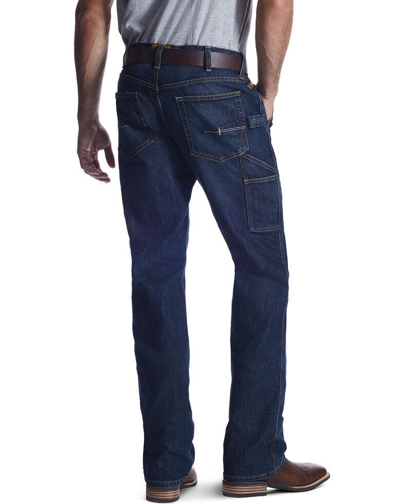 Ariat Men's M4 Workhorse Relaxed Fit Carpenter Jeans, Indigo, hi-res