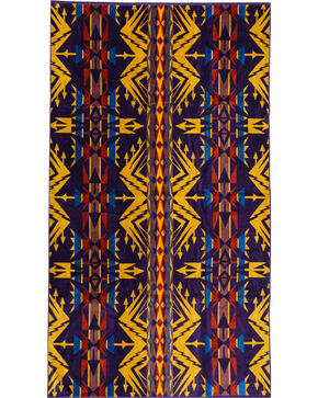 Pendleton Echo Peak Spa Towel, Purple, hi-res