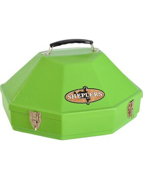 Single Hardshell Hat Carrying Case, Lime, hi-res