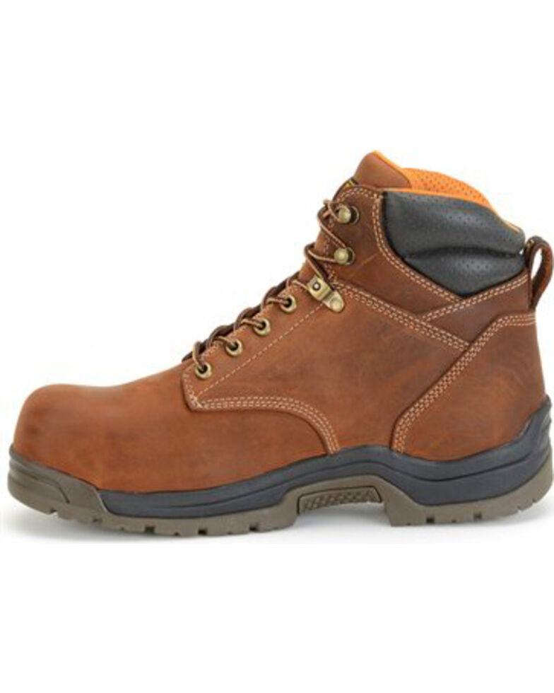 """Carolina Men's 6"""" Brown Waterproof Work Boots - Broad Toe, Brown, hi-res"""