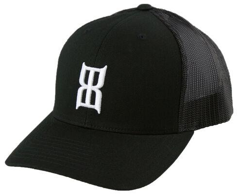 Bex Black Steel Cap, Black, hi-res