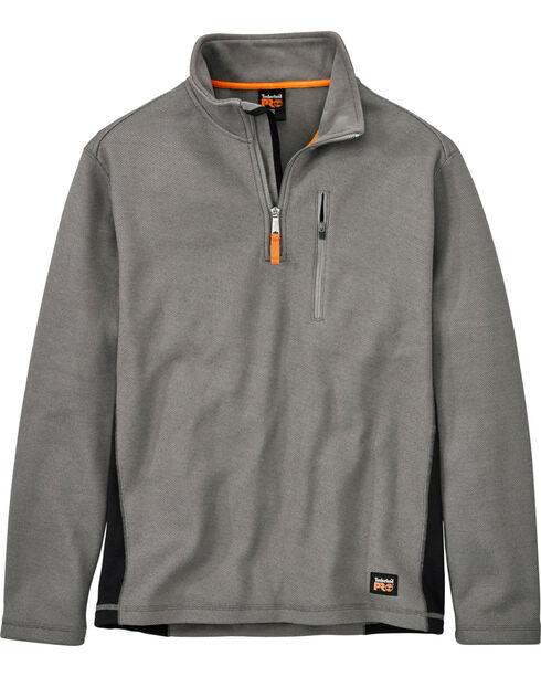 Timberland Men's Studwall Textured 1/4 Zip Fleece Pullover , Steel, hi-res