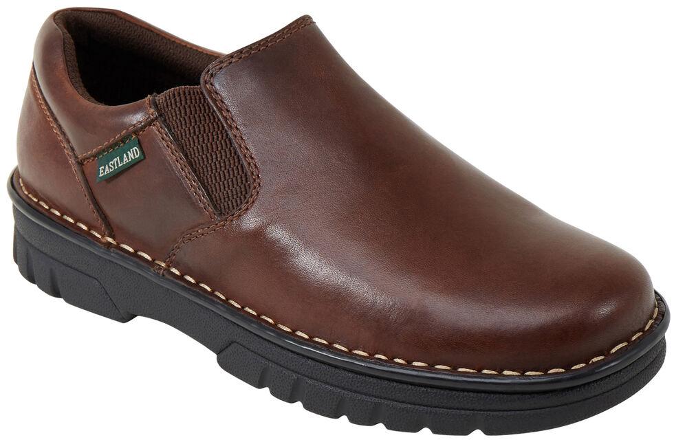 Eastland Men's Brown Newport Slip-On Shoes , Tan, hi-res