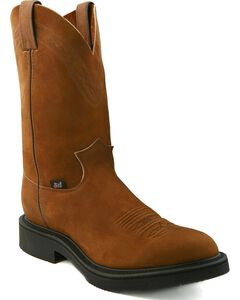 Justin JOW Pull-On Western Work Boots, , hi-res