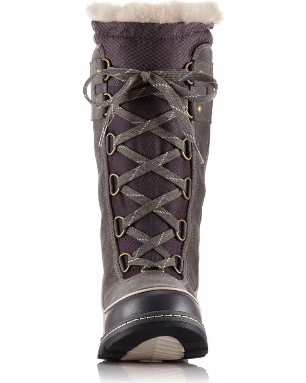 Sorel Women's Grey Tivoli III Waterproof Fleece Lined Boots - Round Toe, Grey, hi-res