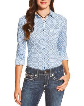 Ariat Women's Kirby Ditsy Print Long Sleeve Shirt, Multi, hi-res