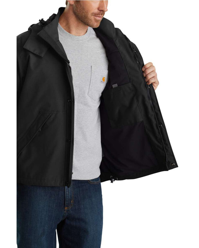 Carhartt Shoreline Jacket, Black, hi-res