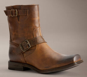 Frye Smith Engineer Boots, Tan, hi-res