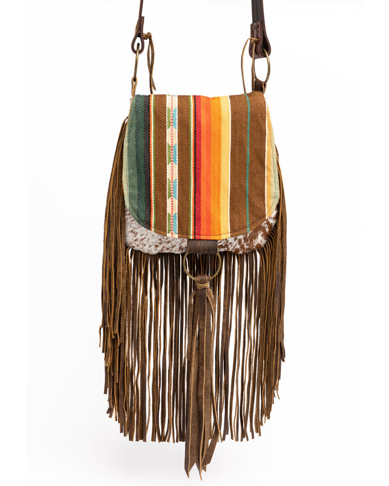 Keep It Gypsy Women's Snake Embossed Leather Crossbody Bag, Multi, hi-res