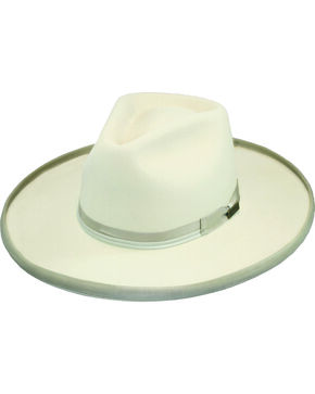 Larry Mahan Men's 4X Boise Silverbelly Hat, Silver Belly, hi-res
