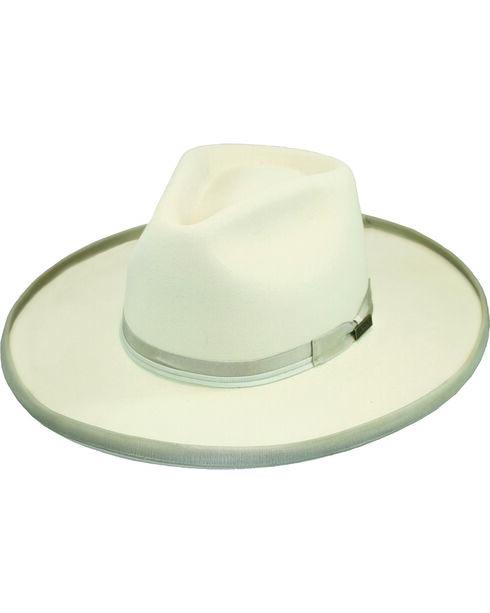 Larry Mahan Men's 4X Boise Silverbelly Hat, Silver Belly, hi-res