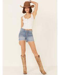 Ariat Women's Rita Boyfriend Shorts, Blue, hi-res