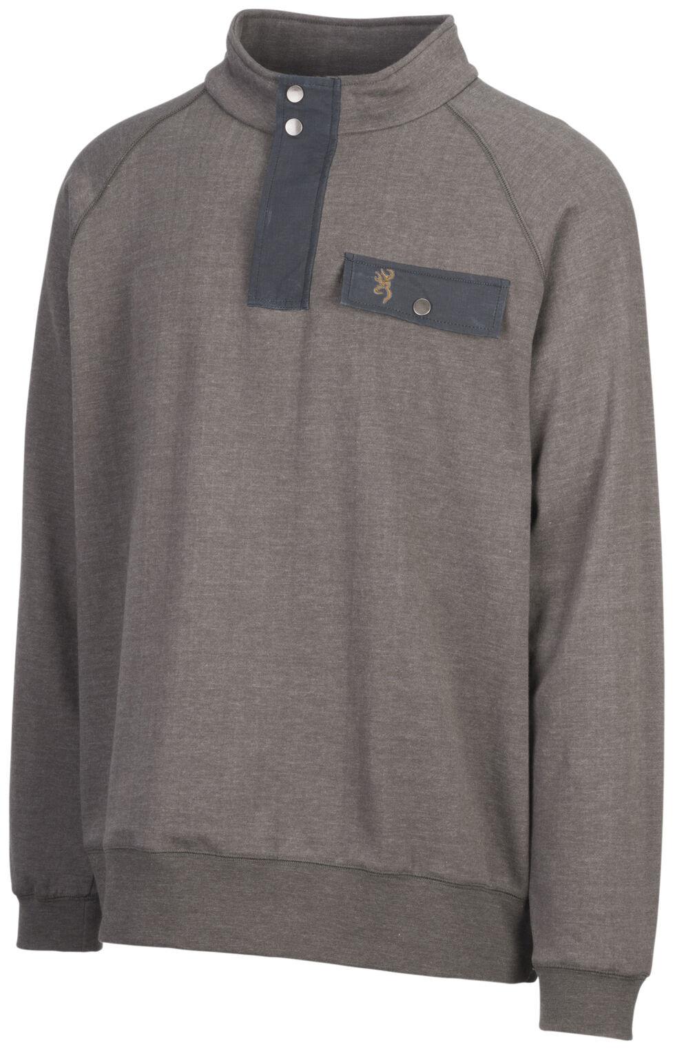 Browning Men's Olive Boulder Sweatshirt, , hi-res