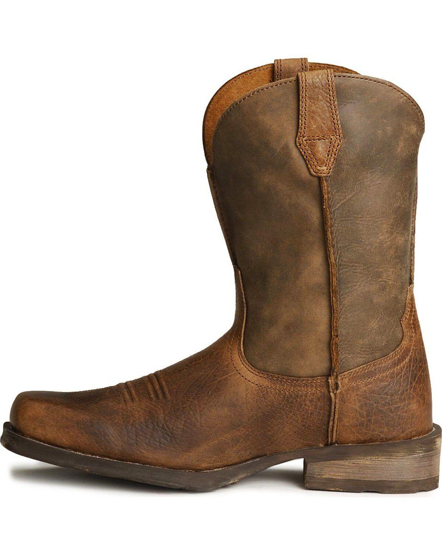 Ariat Rambler Cowboy Boots - Square Toe