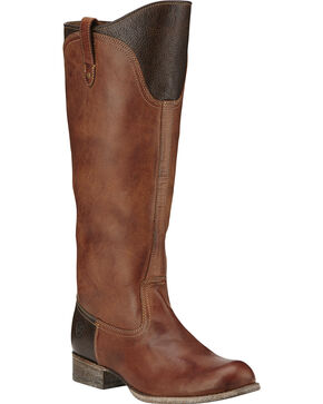 Ariat Paragon Equestrian Inspired Boots, Brown, hi-res