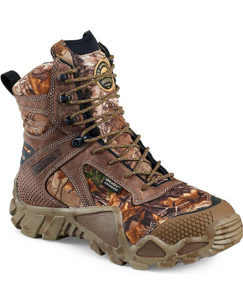 Red Wing Irish Setter Vaprtrek Realtree Xtra Waterproof Boots , Camouflage, hi-res