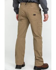 Ariat Men's FR M5 Duralight Stretch Canvas Straight Work Pants , Beige/khaki, hi-res