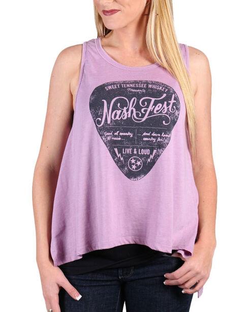 Z Supply Women's Nash Fest Muscle Tank, Lavender, hi-res