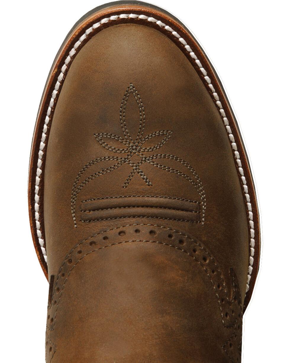 Tony Lama 3R Series Buckaroo Boots - Round Toe, Tan, hi-res