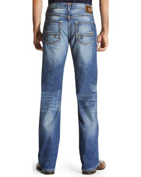 Ariat Men's M6 Adkins Western Jeans - Boot Cut , Indigo, hi-res