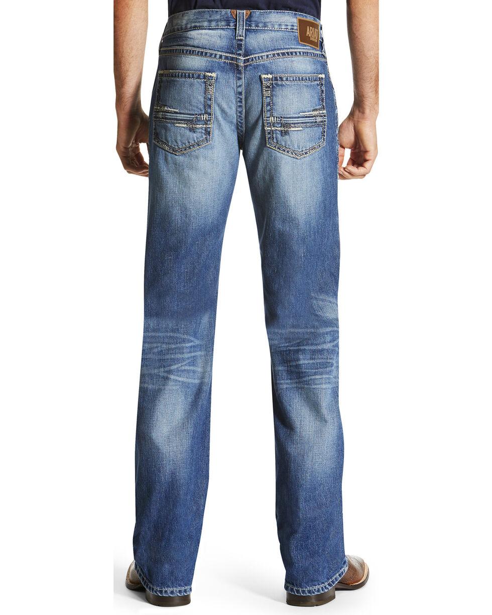 Ariat Men's M6 Adkins Western Jeans - Boot Cut , Indigo, hi-res