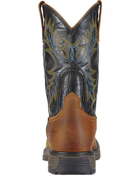 Ariat Workhog Waterproof Work Boots - Square Toe, Aged Bark, hi-res